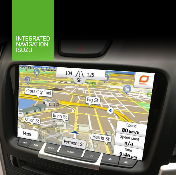 isuzu-dmax and mux navigation